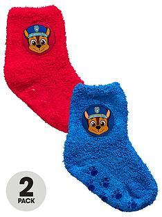 paw-patrol-2-pack-paw-patrol-fleece-grip-socks