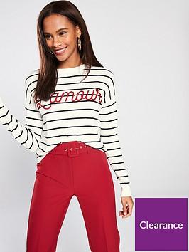 v-by-very-embroiderednbspstripe-jumper-stripe