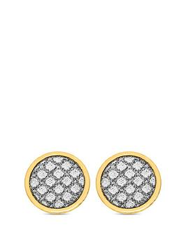 love-gold-9ct-gold-diamond-cut-sparkle-round-stud-earrings