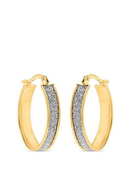 love-gold-9ct-gold-diamond-cut-sparkle-hoop-earrings