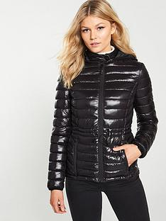 v-by-very-petite-shiny-lightweight-padded-coat-black