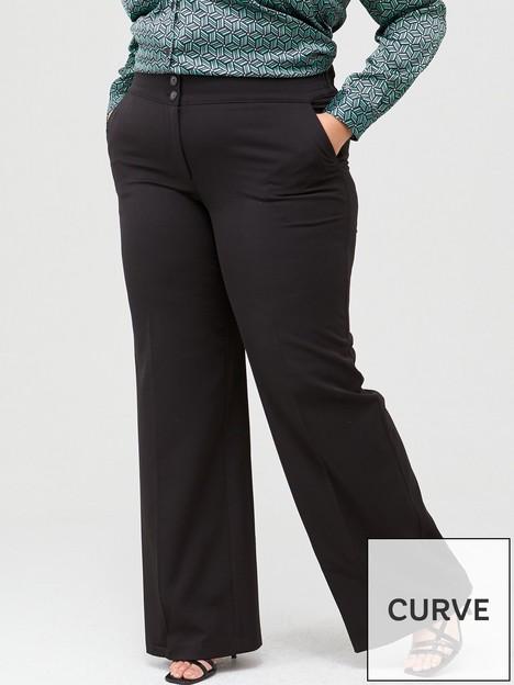 v-by-very-curve-valuenbspwide-leg-trouser-black