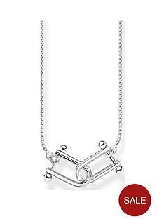 thomas-sabo-sterling-silver-interlocked-necklace