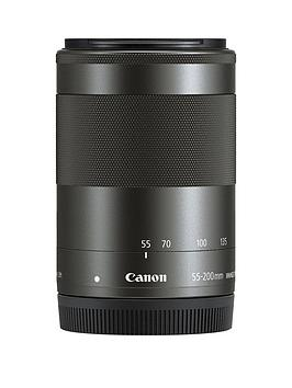 Canon Canon Ef-M 55-200Mm F4.5-6.3 Is Stm Lens For Eos M - Black Picture