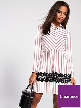 v-by-very-lace-trim-shirt-dress-stripe