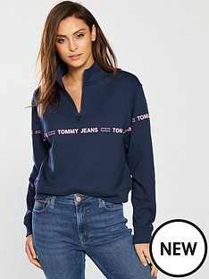 tommy-jeans-half-zip-sweatshirt-black-iris