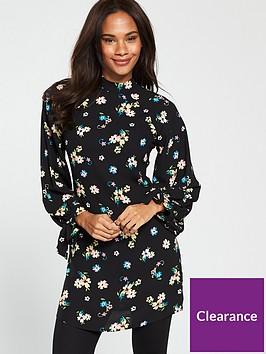 v-by-very-tie-sleeve-tunic-print