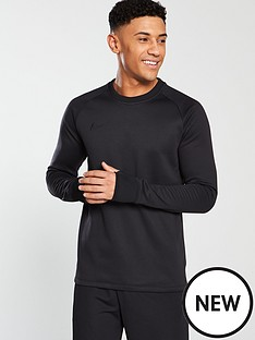 nike-academy-therma-crew-top-black