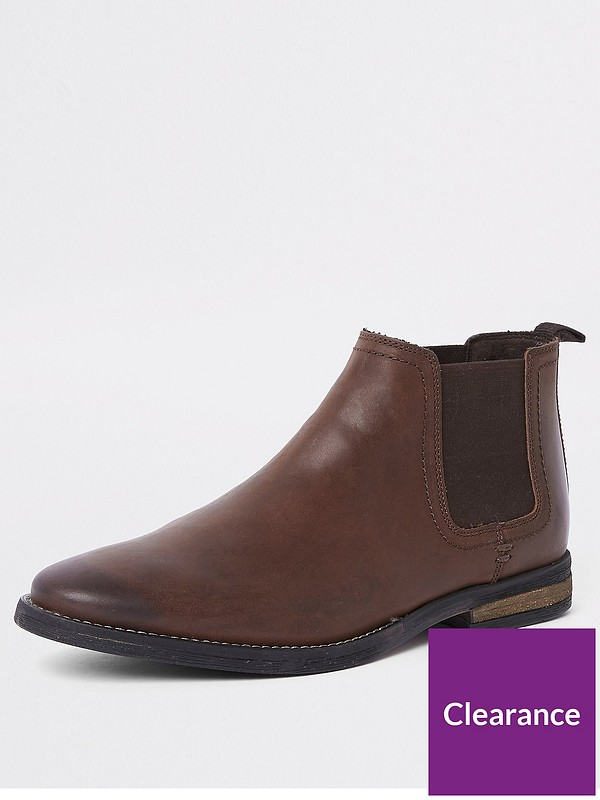 arriving new products dirt cheap Beppe Leather Chelsea Boot