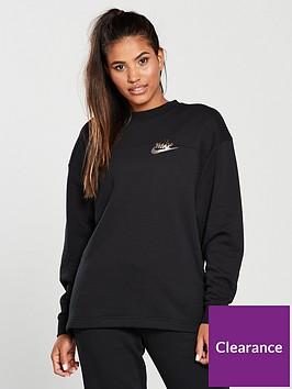 nike-sportswear-metallic-crew-sweat-black
