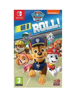 Nintendo Switch Nintendo Switch Paw Patrol - On A Roll - Nintendo Switch Picture
