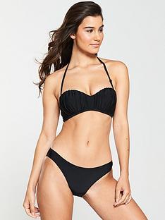 v-by-very-ruched-removable-straps-bikini-set-black