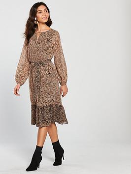 wallis-ditsy-animal-midi-dress-leopard-printnbsp