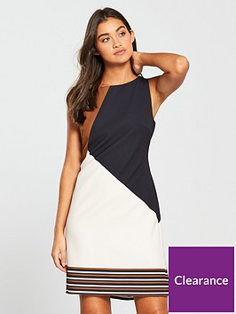 wallis-stripe-border-hem-shift-dress