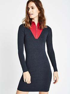 jack-wills-guilden-funnel-neck-dress-navy