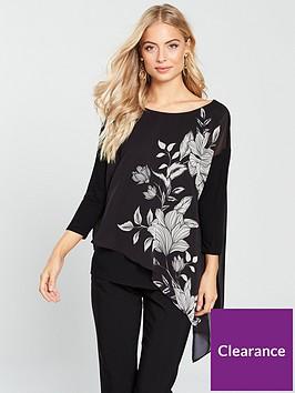 wallis-floral-asymmetric-layer-top