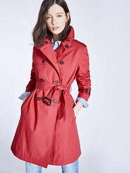 jack-wills-ambrose-trench-coat-berry