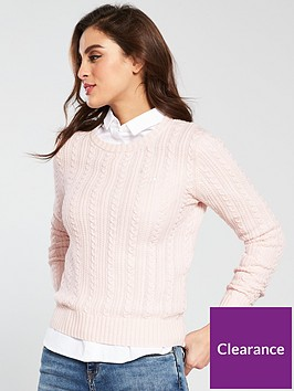 jack-wills-tinsbury-classic-cable-crew-pink