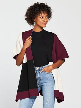 wallis-colour-block-wrap-berry-one-size
