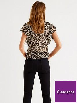 7d6fb0a2fbeced Mango Leopard Print Blouse