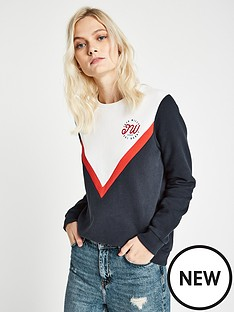 jack-wills-springton-colour-block-crew-navy
