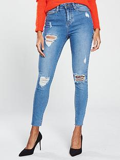 v-by-very-short-ella-high-waisted-thigh-rip-skinny-jean-mid-washnbsp