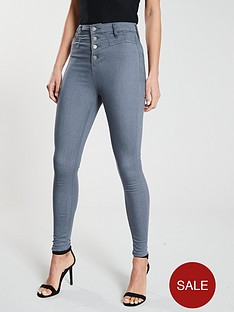 v-by-very-short-addison-super-high-waisted-corset-skinny-jean-grey