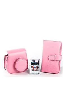 fujifilm-instax-mini-9-accessory-kit-case-album-andnbspphoto-frame-flamingo-pink
