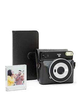 Fujifilm Instax    Sq6 Accessory Kit - Case, Album & Photo Frame - Black