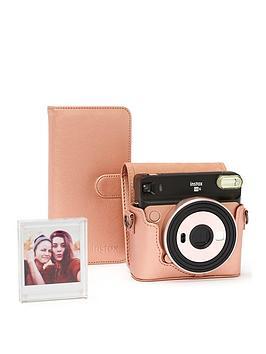 Fujifilm Instax    Sq6 Accessory Kit Inc Case, Album & Photo Frame - Blush Gold