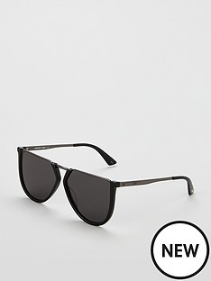 mcq-alexander-mcqueen-flat-top-sunglasses-black