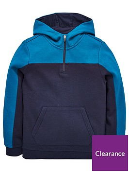 v-by-very-boys-cut-and-sew-quarter-zip-hoodienbsp--bluenavy