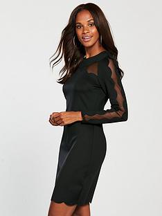 45783a35e Ted Baker Serenty Joyous Bodycon Dress - Black