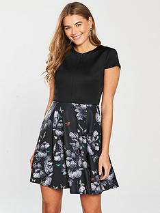 Ted Baker Narnia Skater Dress - Black  7271ce890