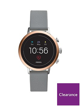 fossil-fossil-q-venture-full-display-rose-gold-bezel-grey-leather-strap-ladies-smart-watch