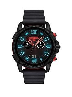 diesel-diesel-full-guard-25-black-and-red-display-black-silicone-strap-mens-smart-watch