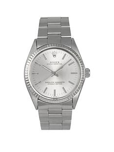rolex-pre-owned-oyster-perpetual-silver-baton-dial-stainless-steel-bracelet-mens-watch-1005