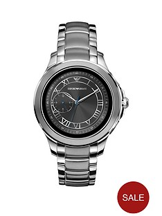 emporio-armani-alberto-full-display-grey-dial-stainless-steel-bracelet-mens-smart-watch