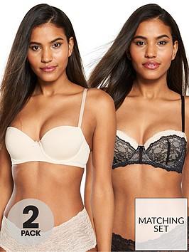 dorina-2-pack-layla-balconette-bra-black-and-nude