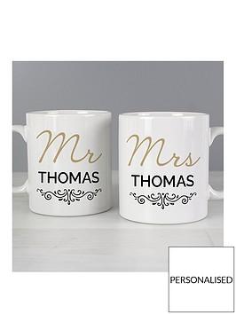 personalised-mr-and-mrs-duo-mug-set