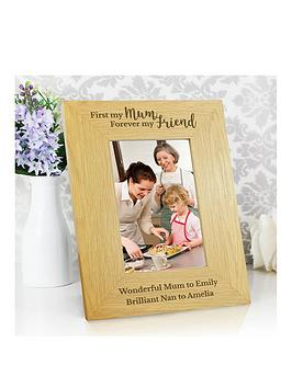 Very Personalised First My Mother Forever My Friend Photo Frame Picture