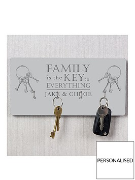 personalised-family-key-hanger