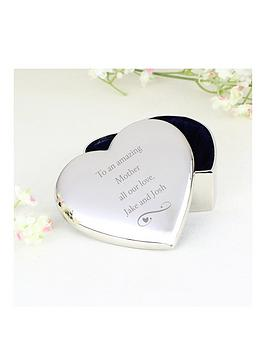 Very Personalised Heart Trinket Box Picture