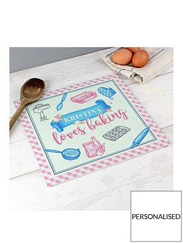 personalised-glass-baking-board