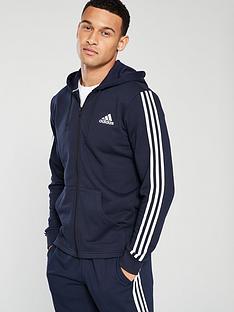 adidas-3snbspfull-zip-hoodienbspndash-navy