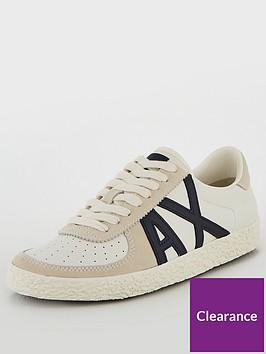 armani-exchange-leather-low-cut-sneaker
