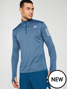 adidas-adidas-response-long-sleeve-zip-running-t-shirt