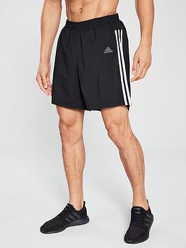 adidas-3s-7-inchnbsprunning-shorts-ndash-black