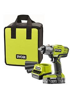 ryobi-r18iw3-120s-18v-one-cordless-3-speed-impact-wrench-starter-kit-1-x-20ah