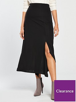 river-island-jersey-midi-skirt-black